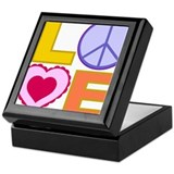 Love Art Keepsake Box