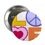 "Love Art 2.25"" Button"