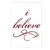 I Believe (fancy) Postcards (Package of 8)