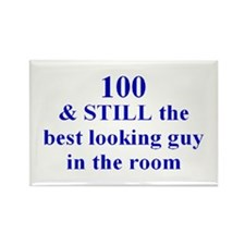 100 still best looking 2 Rectangle Magnet (10 pack