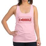 Cornhole Board Design Racerback Tank Top