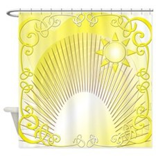 The Two Suns Shower Curtain