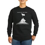 Land of the Free - Iwo Jima Long Sleeve Dark T-Shi