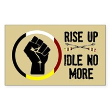 Rise Up - Idle No More Decal