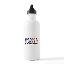 Boricua Water Bottle