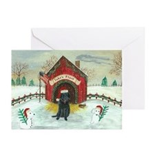 Christmas Labrador Greeting Cards (Pk of 10)