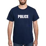 Police Bullet-Proof Vest Dark T-Shirt