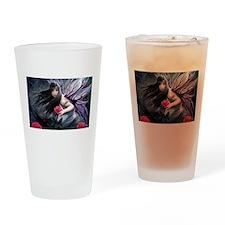 Rose Fairy Drinking Glass