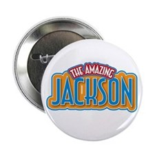 "The Amazing Jackson 2.25"" Button"