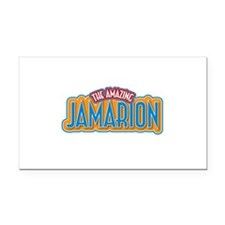 The Amazing Jamarion Rectangle Car Magnet