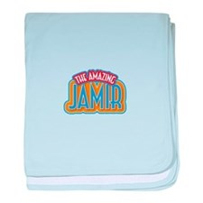 The Amazing Jamir baby blanket