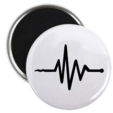 "Frequency music 2.25"" Magnet (100 pack)"