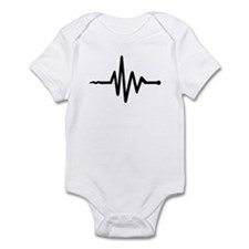 Frequency music Infant Bodysuit