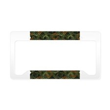 Army Barracks License Plate Holder