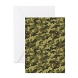 Army Camouflage Greeting Card