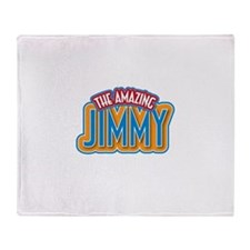 The Amazing Jimmy Throw Blanket