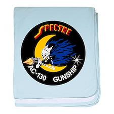 AC-130 Spectre baby blanket
