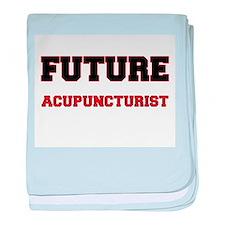 Future Acupuncturist baby blanket