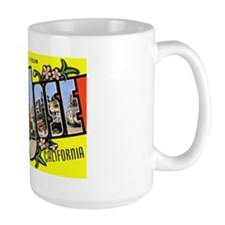 San Jose California Greetings Mug