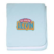 The Amazing Kelvin baby blanket