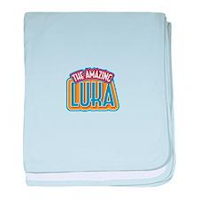 The Amazing Luka baby blanket