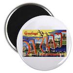 Oakland California Greetings Magnet