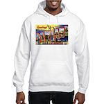 Oakland California Greetings Hooded Sweatshirt