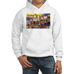 Oakland California Greetings (Front) Hooded Sweats