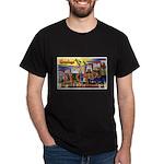 Oakland California Greetings (Front) Dark T-Shirt