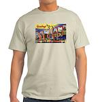 Oakland California Greetings Ash Grey T-Shirt