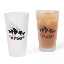 I Heart Sydney 1 Drinking Glass