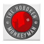 Hoboken Monkeyman Tile Coaster