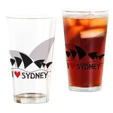 I Heart Sydney II Drinking Glass