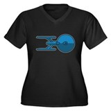 USS Enterprise 1701A Plus Size T-Shirt