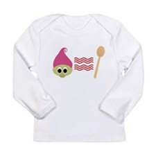 Troll Bacon Spoon Long Sleeve T-Shirt