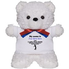 Custom Obsessive Compulsive Golf Disorder Teddy Be