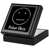 """Poker Face"" Keepsake Box"