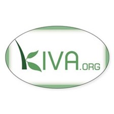 Just Kiva Rectangle Decal