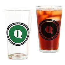 Green Drinking Glass