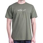 green wtfwjd? shirt