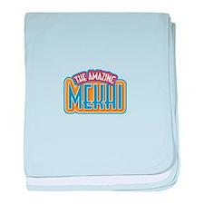 The Amazing Mekhi baby blanket