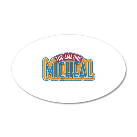The Amazing Micheal Wall Decal