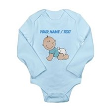 Custom Baby Boy Body Suit
