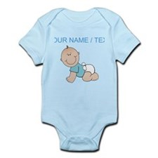 Custom Baby Boy Body Suit