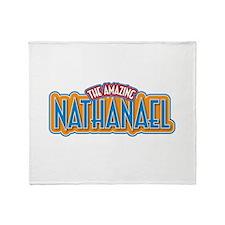 The Amazing Nathanael Throw Blanket