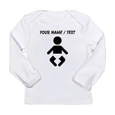 Custom Baby Long Sleeve T-Shirt