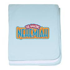 The Amazing Nehemiah baby blanket