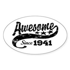 Awesome Since 1941 Decal