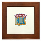 The Amazing Noe Framed Tile