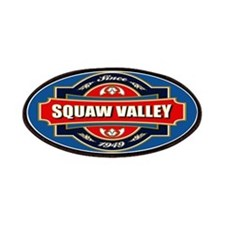 Squaw Valley Old Label Patches